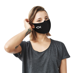 Jesus Fish Face Mask - Cloth
