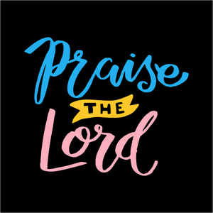 Praise The Lord Face Mask - Cloth