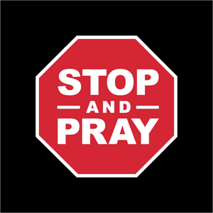 Stop And Pray Face Mask - Cloth
