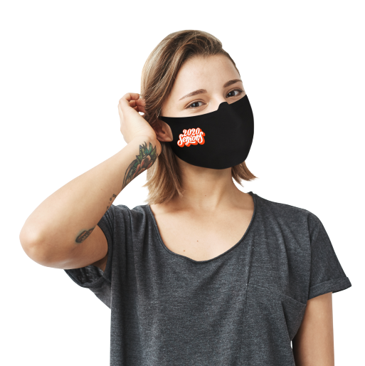 2020 Seniors Face Mask - Cloth