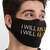 I Will Listen & Learn Face Mask - Cloth