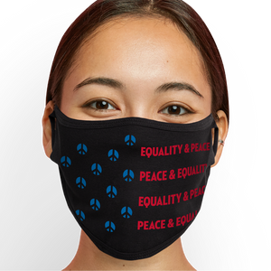EQUALITY AND PEACE Face Mask - Cloth