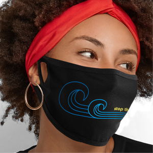 Stop the Second Wave Face Mask - Cloth