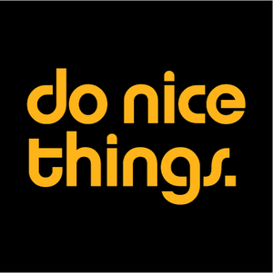 Do Nice Things Face Mask - Cloth