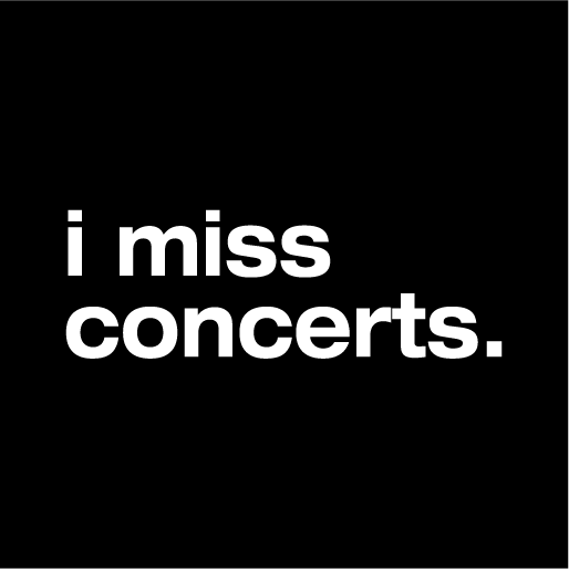 I Miss Concerts Face Mask - Cloth