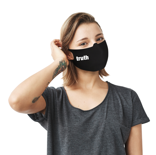 Truth Or Dare Face Mask - Cloth