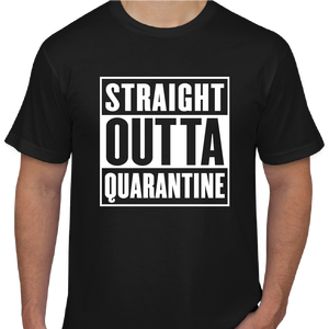 Straight Outta Quarantine - T-shirt Bundle