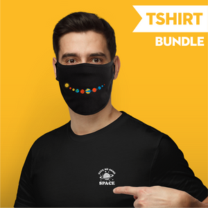 Give me Some Space - T-Shirt Bundle and Face Mask - Cloth