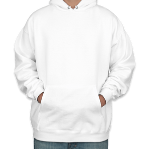 Ghost Covid Costume - Triple-Ply Mask & Hanes Heavyweight Hoodie