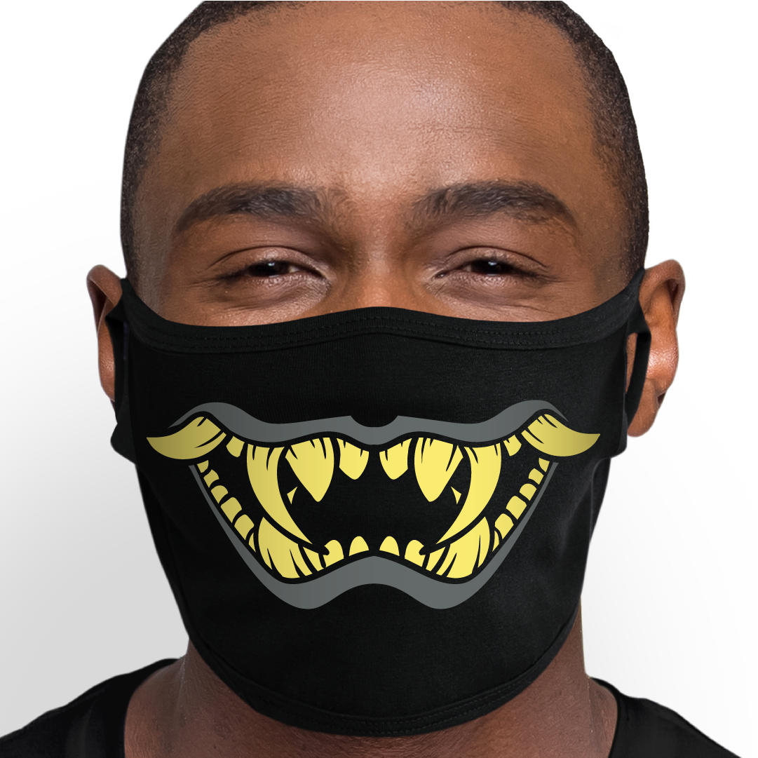Kabuki Mouth Face Mask - Cloth