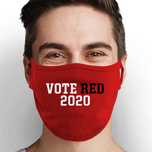 Vote Red 2020 Face Mask - Cloth