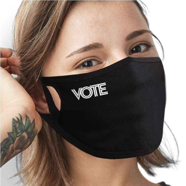Just VOTE Face Mask - Cloth