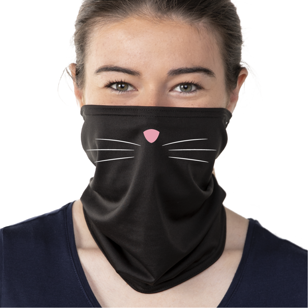 Cat Nose Face Mask - Cloth