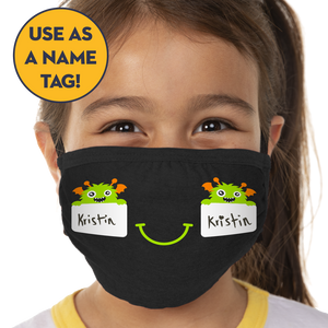 Monster Name Tags - Kids 3 Pack