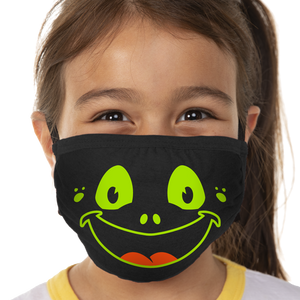 Froggy Face Face Mask - Cloth
