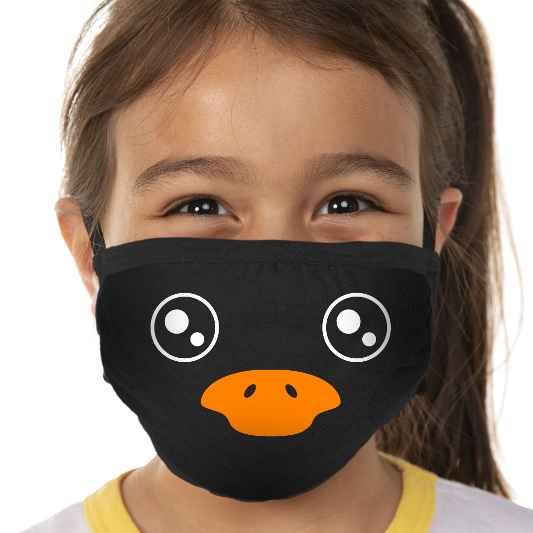 Penguin Face Face Mask - Cloth