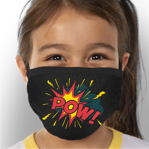 Super Hero - Kids Triple-Ply Mask Face Mask - Cloth