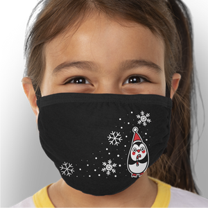 Chilly Penguin - Kids Triple-Ply Mask Face Mask - Cloth