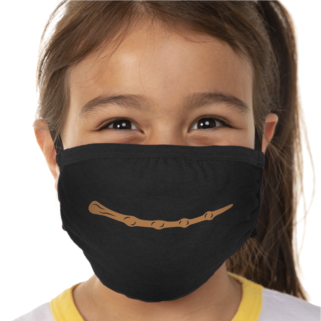 Wizard Wand - Kids Face Mask - Cloth