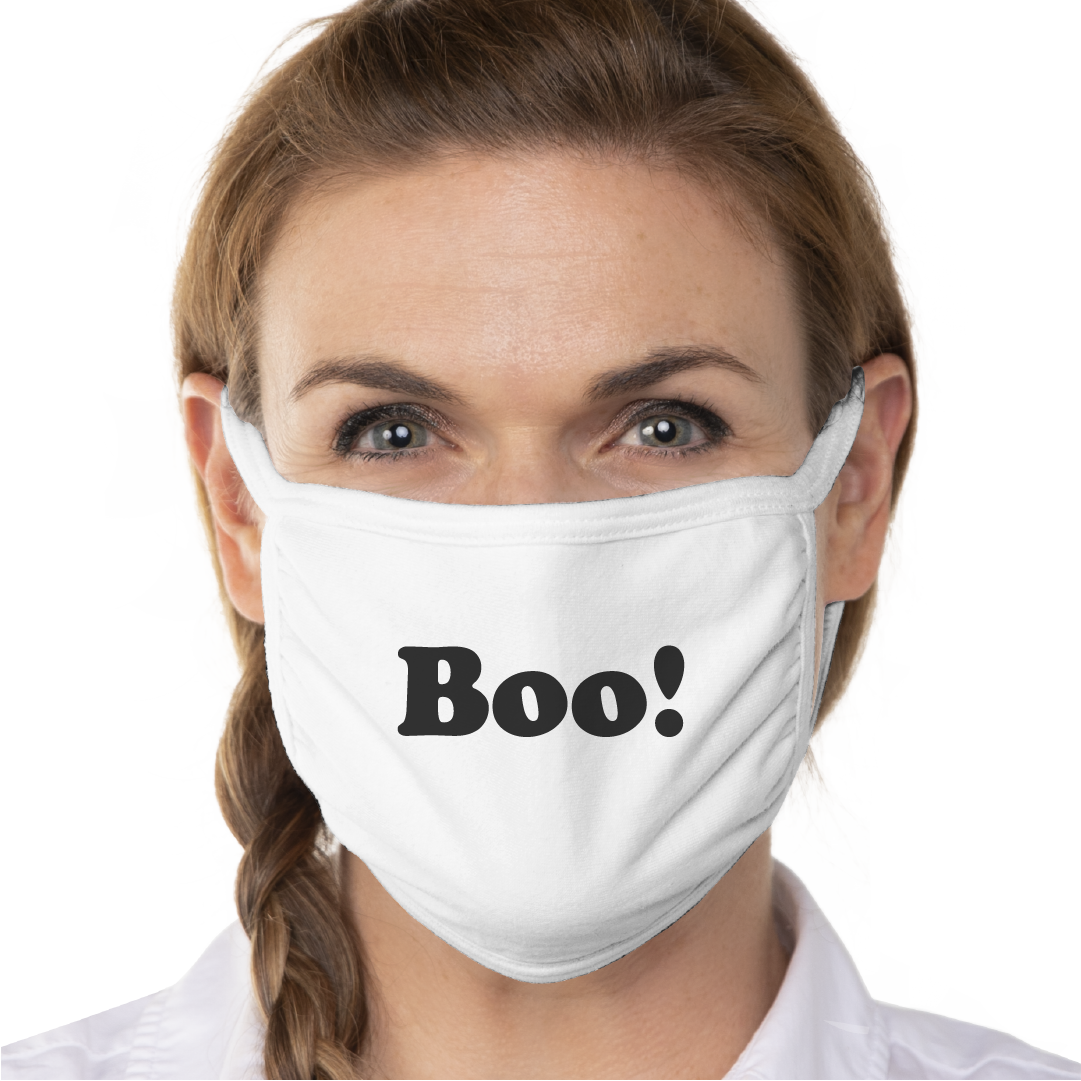 Boo! Face Mask - Cloth