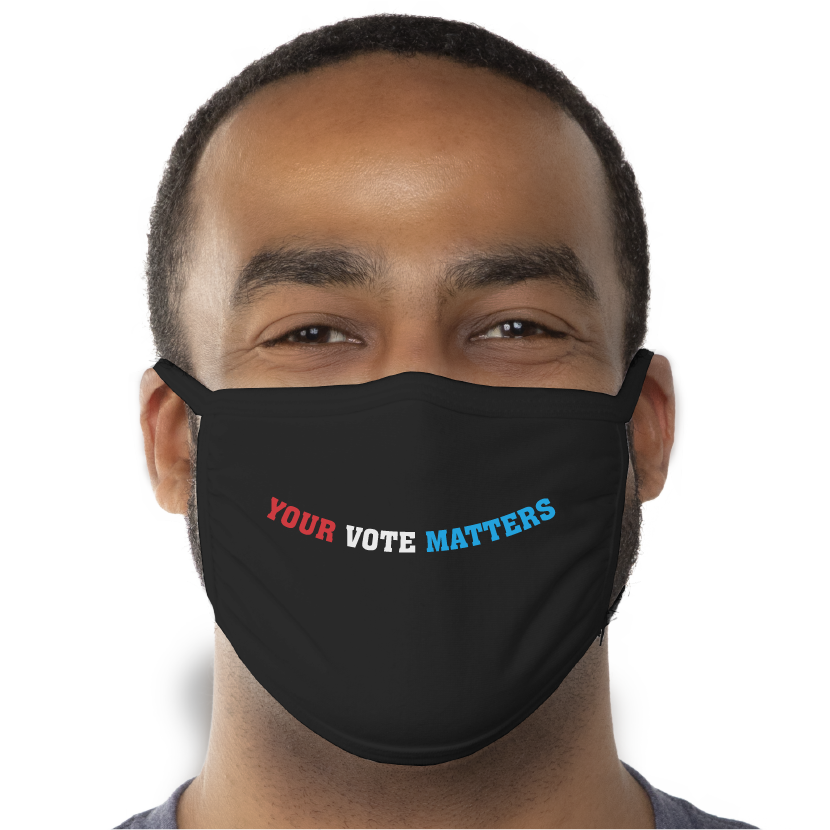 Your Vote Matters - Triple-Ply Face Mask - Cloth