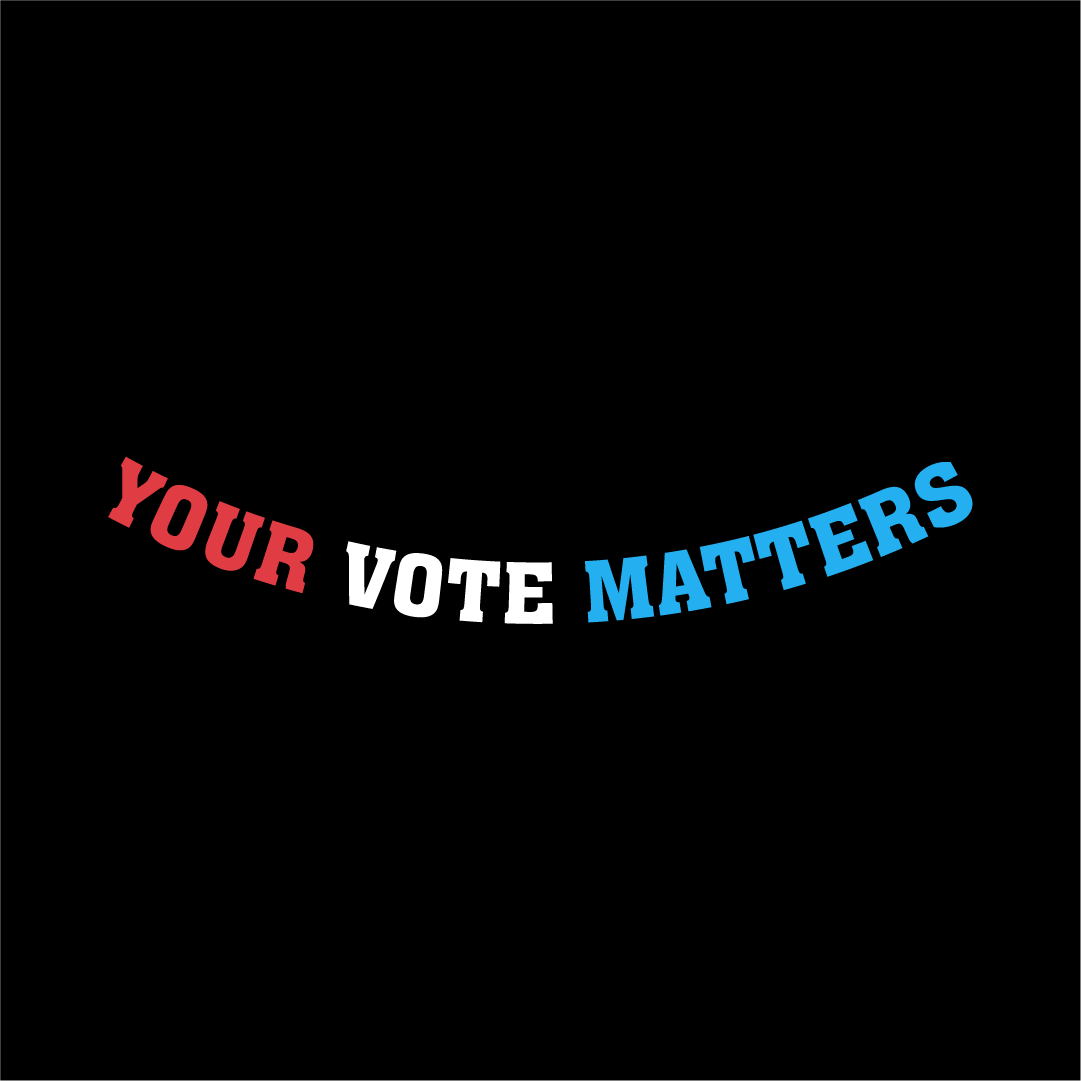 Your Vote Matters - Gaiter Face Mask - Cloth
