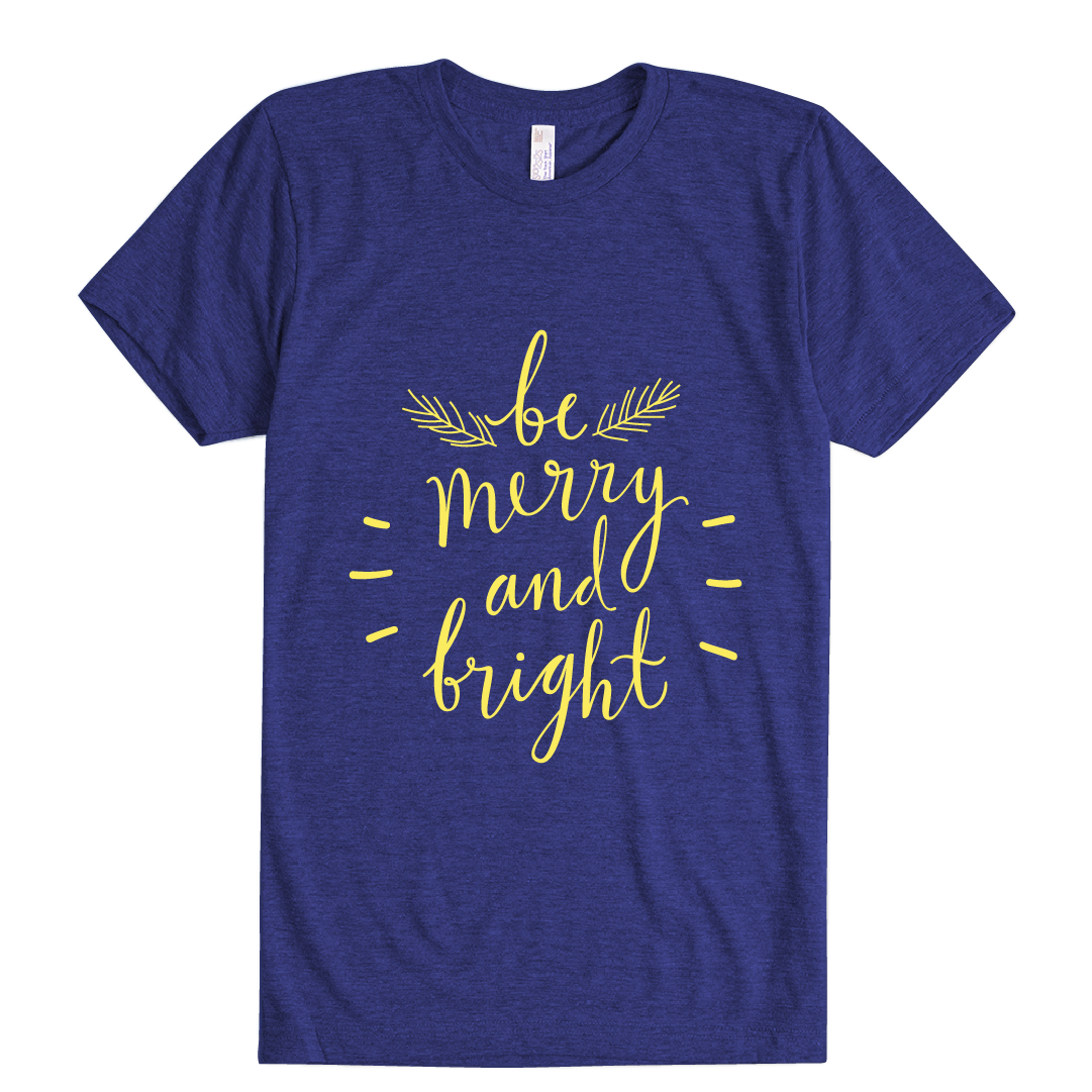 Merry and Bright - Unisex T-Shirt