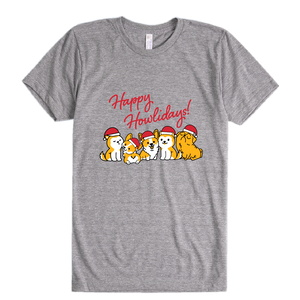 Happy Howlidays! - Unisex T-Shirt