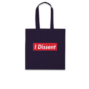 I Dissent - Navy Tote Bag