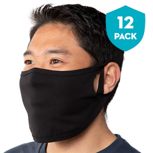 Basic Blank Mask - 12-Pack Face Mask - Cloth