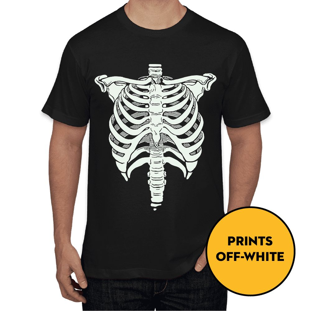 Rib Cage - Glow In The Dark - Unisex T-Shirt