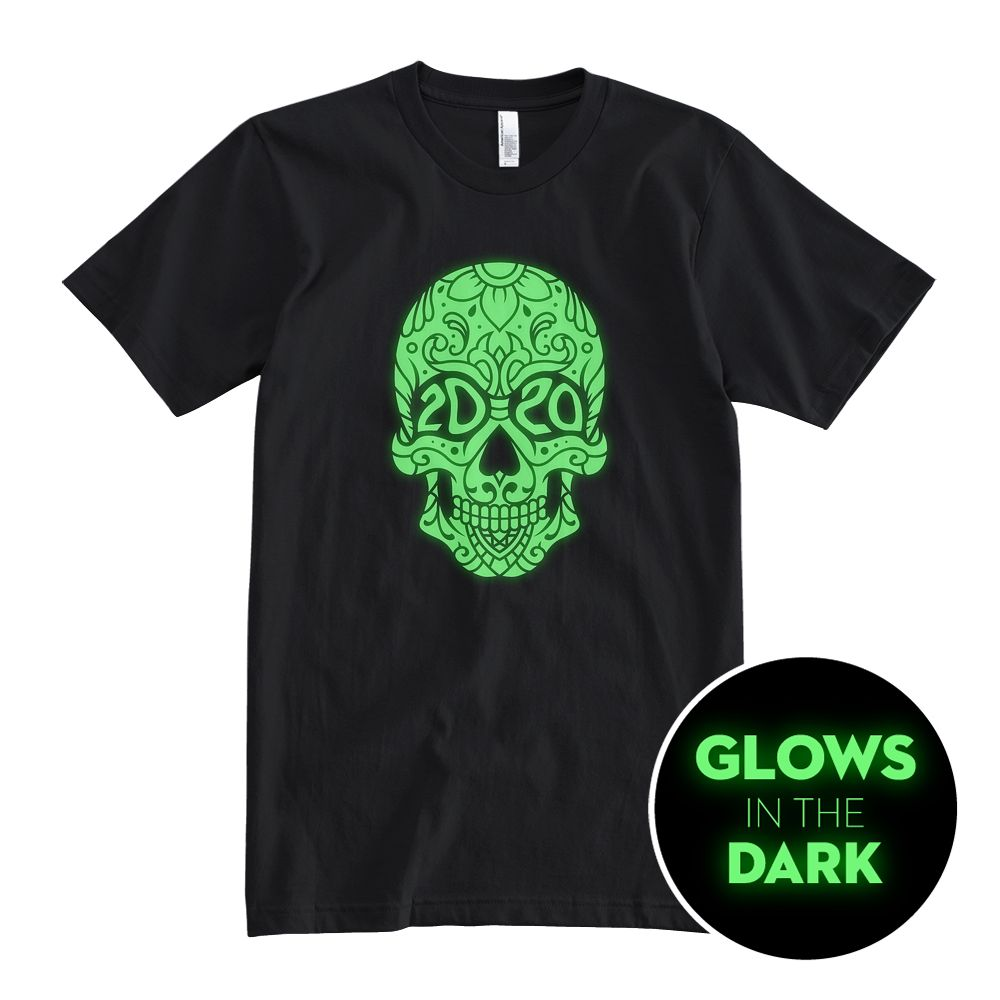 2020 Skull - Glow In The Dark - Unisex T-Shirt