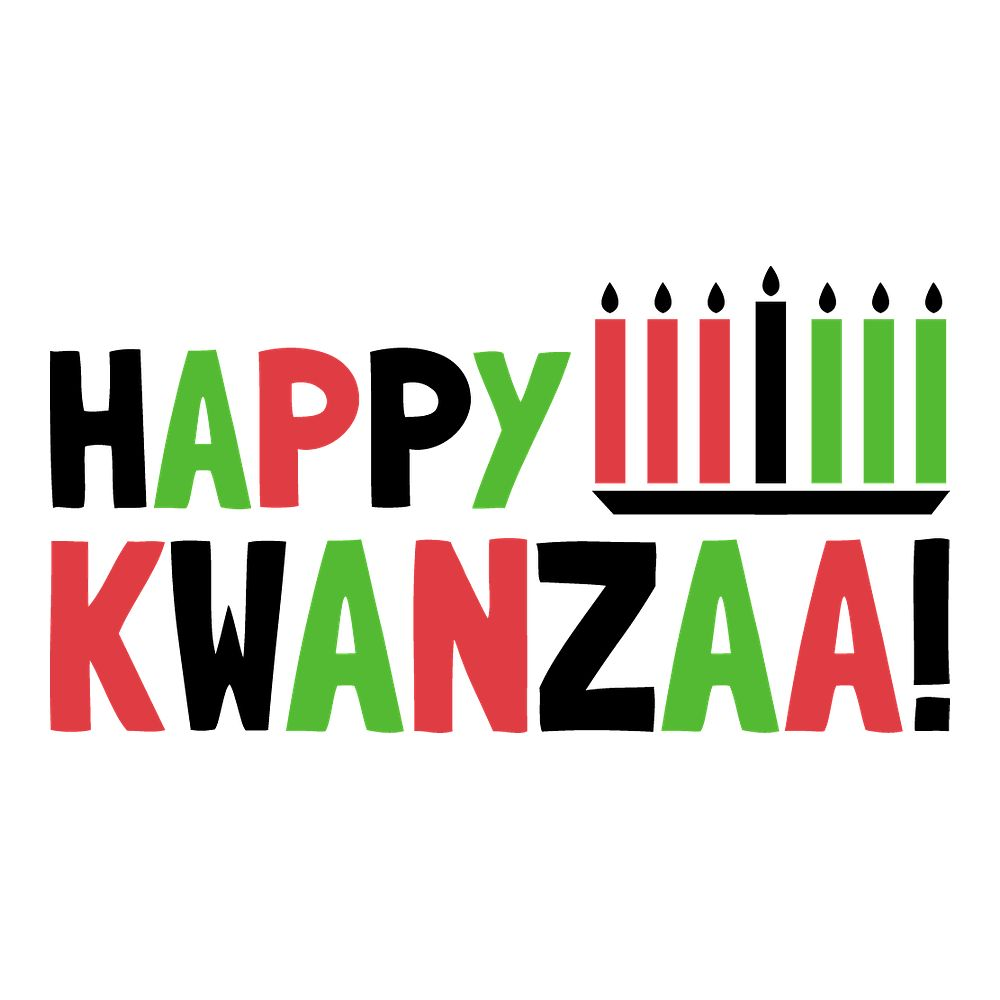 Happy Kwanzaa! - Super Comfort Cotton Mask Face Mask - Cloth