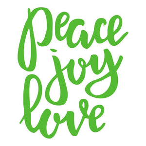 Peace, Joy, Love - Triple-Ply Mask
