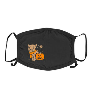 Fall Pup - Kids Triple-Ply Mask