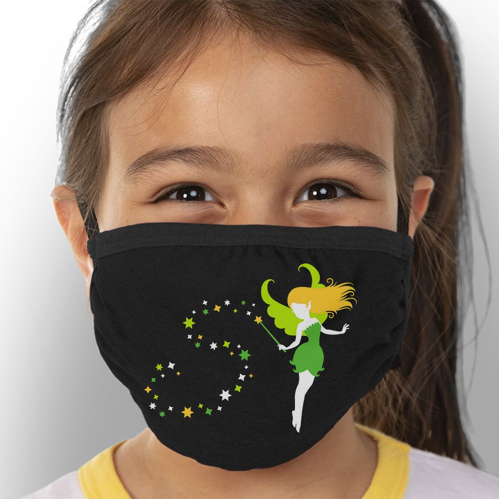 Magic Fairy - Kids Triple-Ply Mask Face Mask - Cloth
