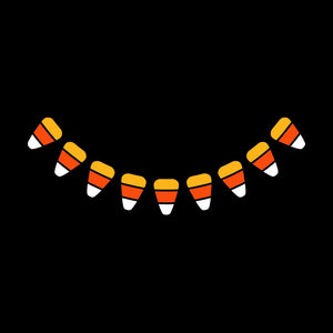 Candy Corn Smile - Kids Triple-Ply Mask