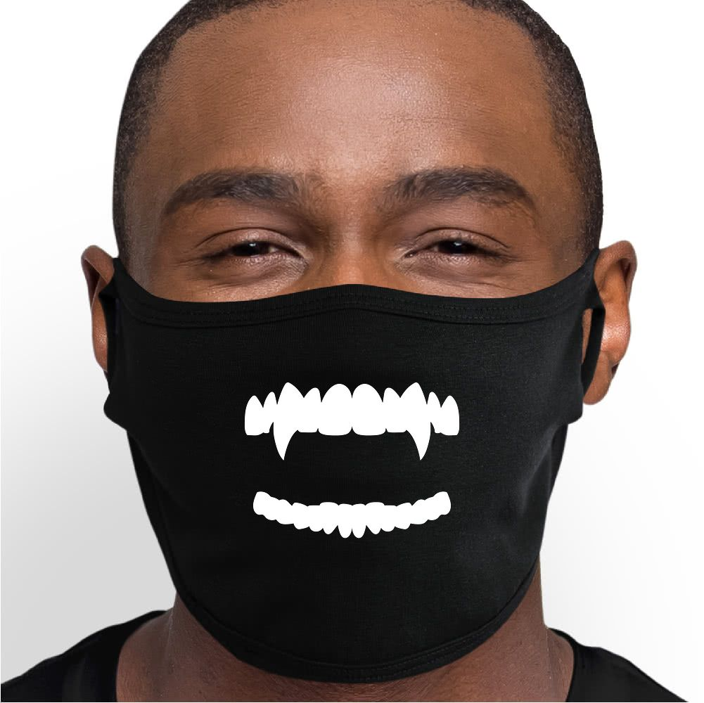 Blushing Smile Face Mask - Cloth