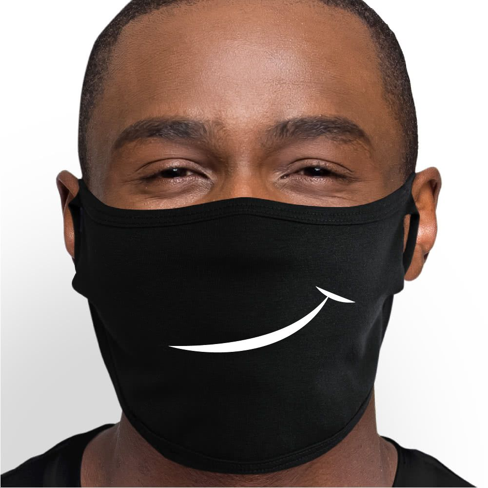Smirk Face Mask - Cloth