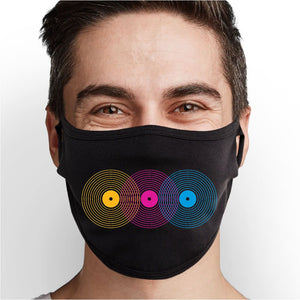 Retro Records Face Mask - Cloth
