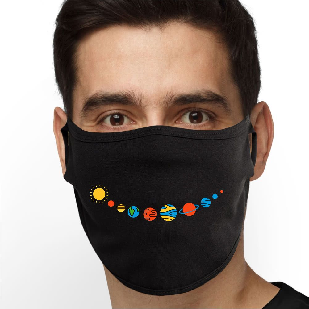 Planet Smile Face Mask - Cloth