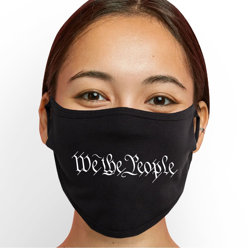 We the People Face Mask - Cloth