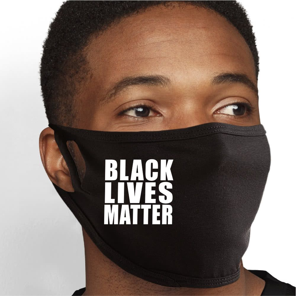 Black Lives Matter Face Mask - Cloth