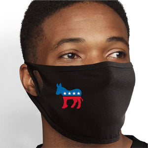 Vote Democrat Face Mask - Cloth