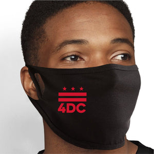 Love For Washington DC Face Mask - Cloth