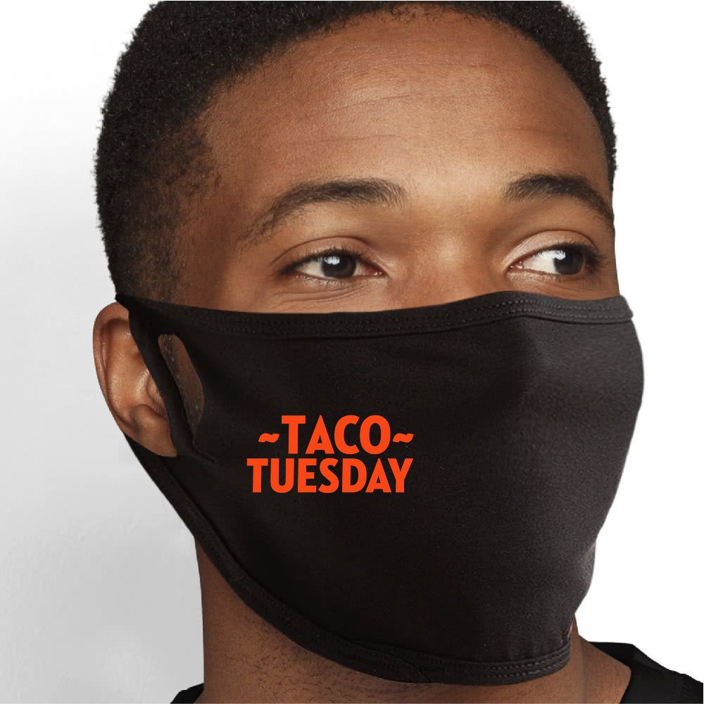 Taco Tuesday Face Mask - Cloth