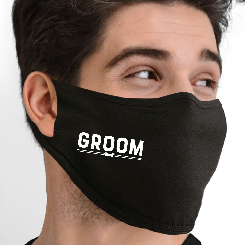 Groom Face Mask - Cloth