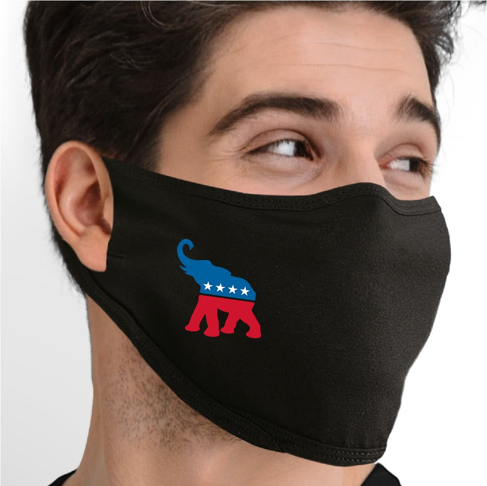 Vote Republican Face Mask - Cloth