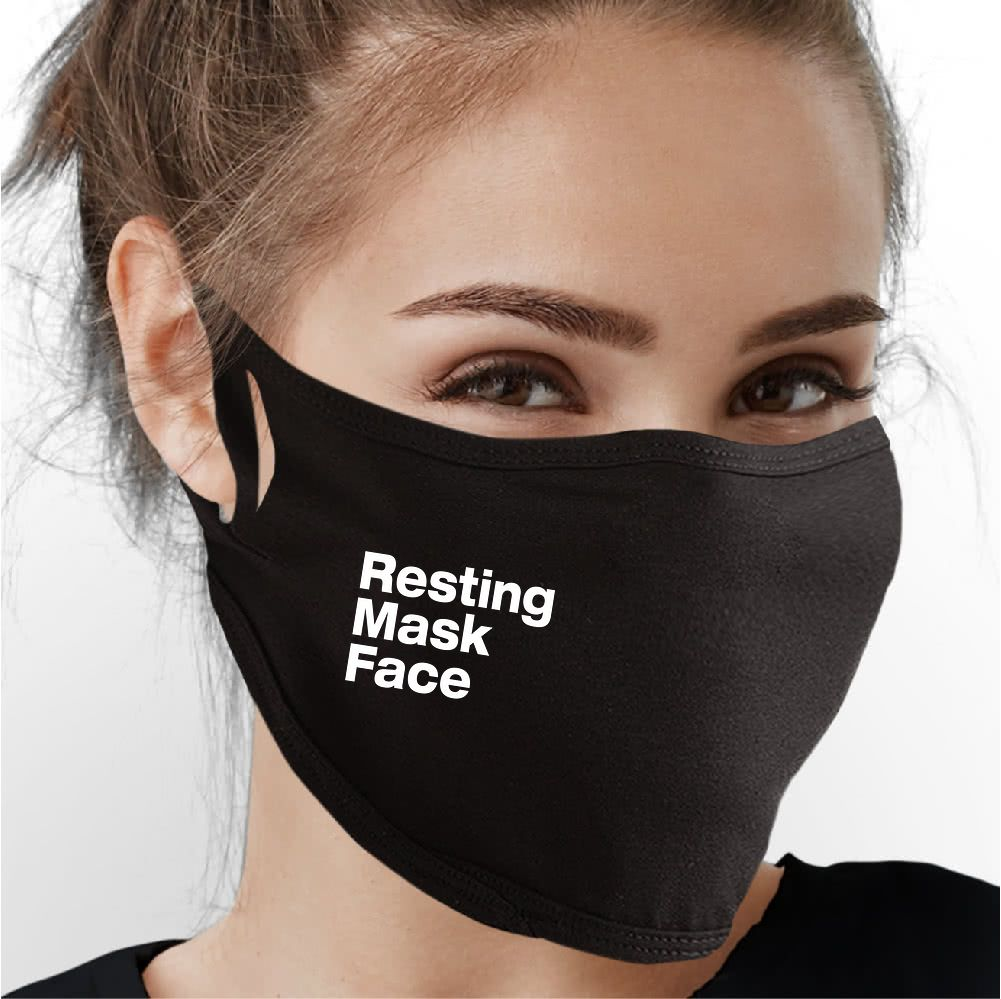 Resting Mask Face Face Mask - Cloth