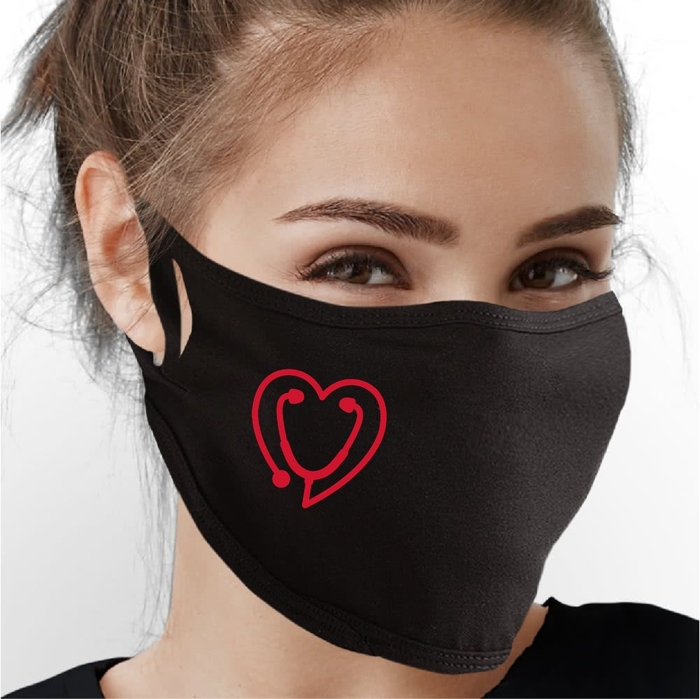 Love For Medical Workers Face Mask - Cloth